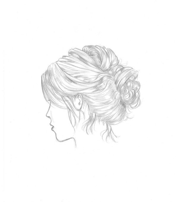 Drawing Some Crazy Hair Tonight